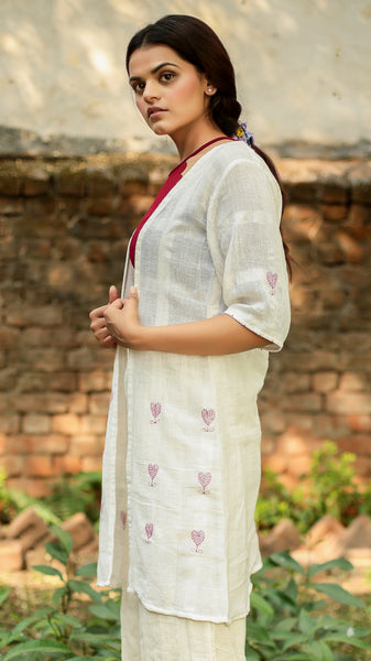 Kora Embroidered shrug