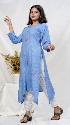 Umang Embroidered tunic set online available at bebaakstudio.com