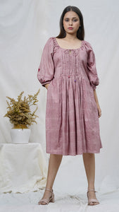 Rosa raglan midi dress online available at bebaakstudio.com