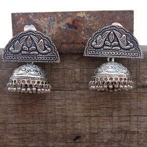 Half moon tribal jhumka