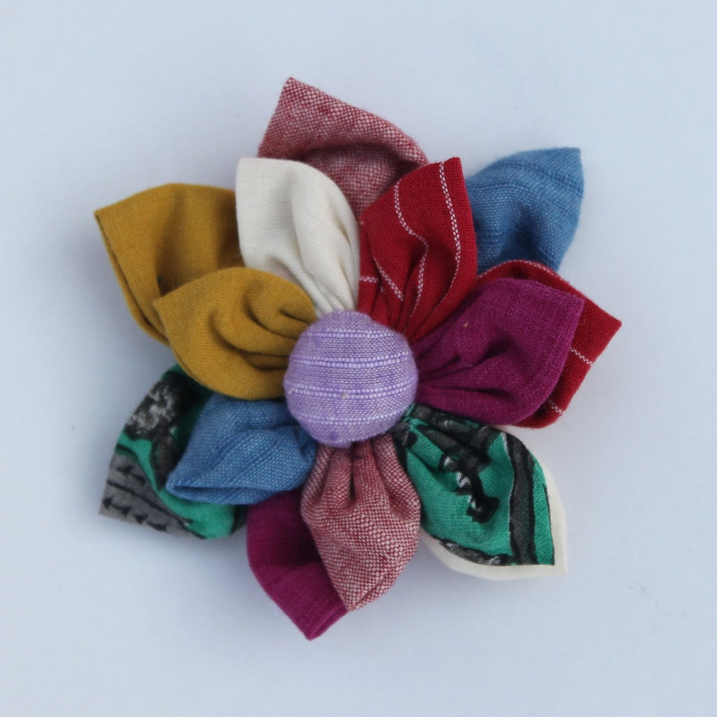 Shop Satrangi floral brooch online at bebaakstudio.com