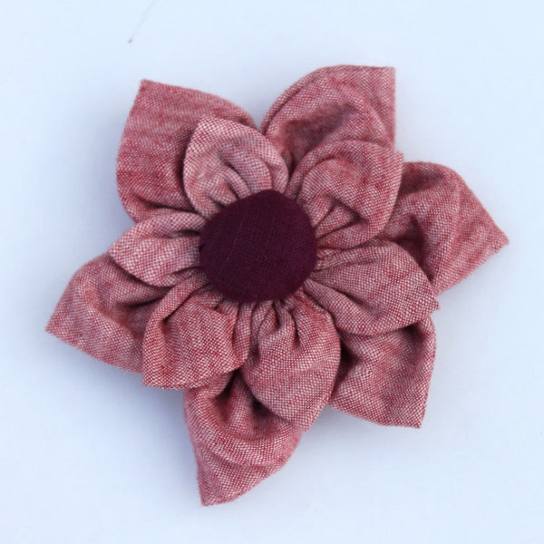 Brooch : Shop Rose floral brooch online at bebaakstudio.com