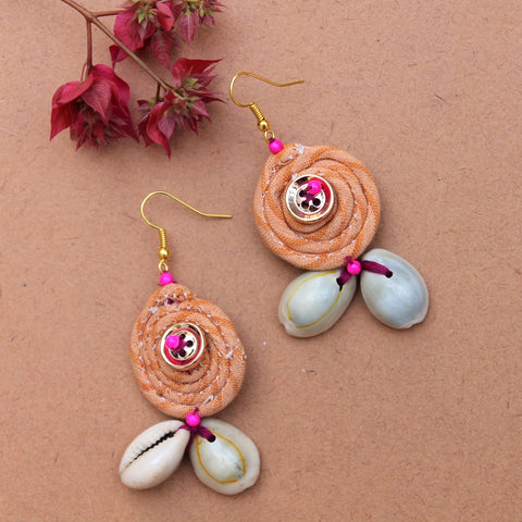 Honey boho earring
