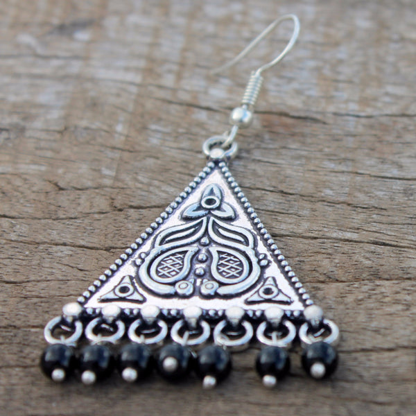 Shabari Triangle Earring