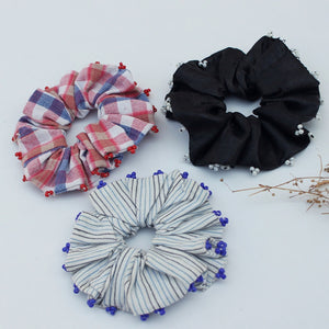 Check scrunchies online available at bebaakstudio.com