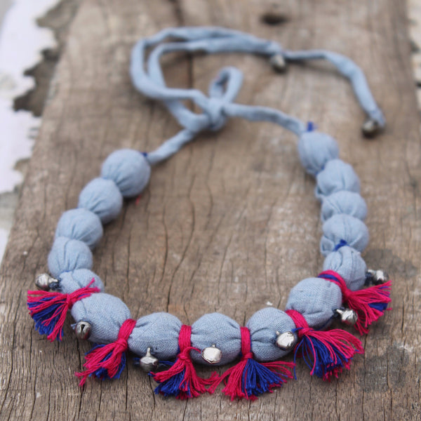 Jhanjher grey Necklace necklace