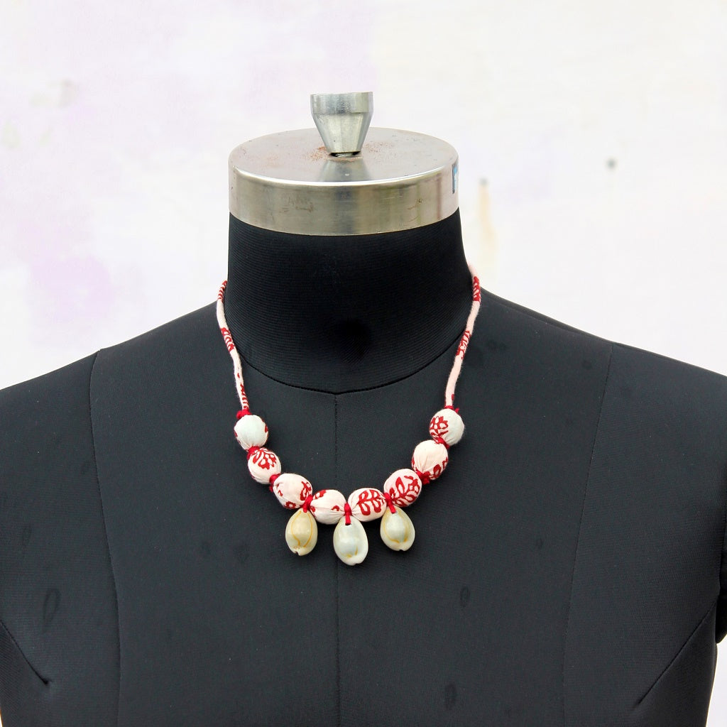 Ivory shell necklace