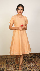 Honey short flared dress