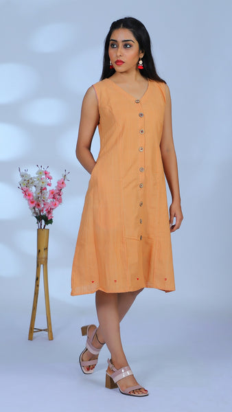 Honey heart A line dress