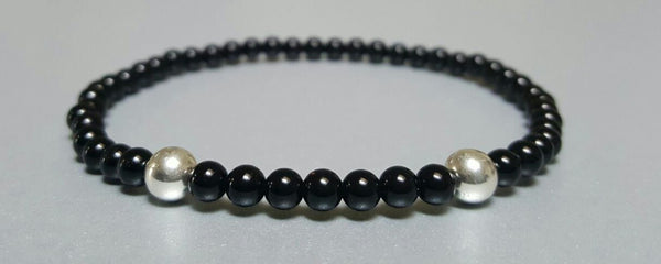 The Counselor Set w/ 4mm Sterling Silver Beads Accent Bracelet