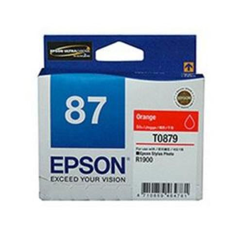 T0879 INK CARTRIDGE ORANGE R1900