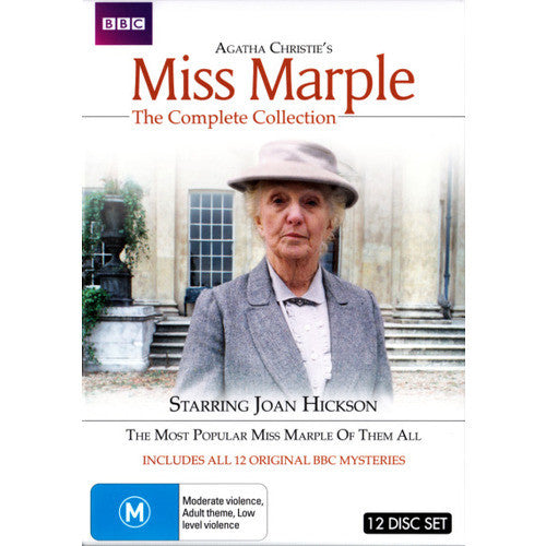 Agatha Christie's Miss Marple: The Complete Collection (12 Discs)