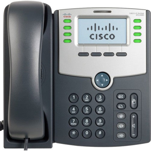 8 Line IP Phone With Display PoE and PC
