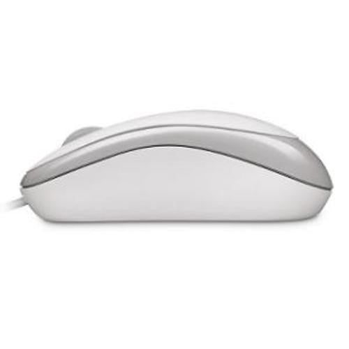 L2 Basic Optical Mouse - White