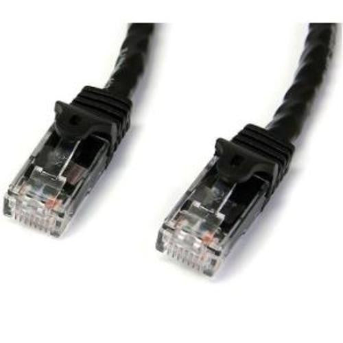 1m Black Snagless Cat6 UTP Patch Cable