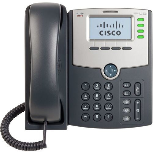 4 Line IP Phone With Display PoE and PC