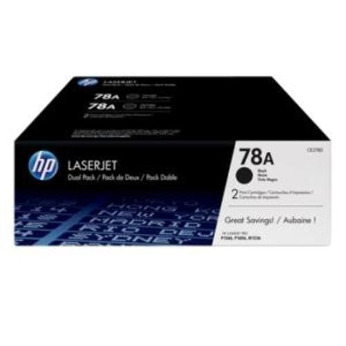 78A BLACK TWIN-P LJ TONER CART CE278AD