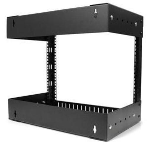 8U Open Frame Wall Mount Equipment Rack