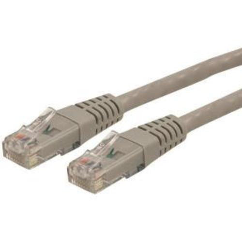 15m Cat 6 Gray Molded Cat6 Patch Cable