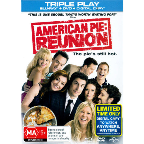 American Pie 8: American Reunion (2012) (Blu-ray/DVD/Digital Copy)