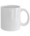 Funny - In Memory Of When I Cared (White) - Coffee Mug - YesECart