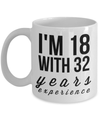 50 Birthday Funny Gifts For Women-Happy Birthday 50 Gag Gift For Men - YesEcart - Coffee Mug - YesECart