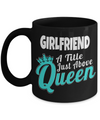 Girlfriend Gift Ideas - Best Girlfriend Birthday Gift - Girlfriend Gifts For Anniversary - Girlfriend Mug - Girlfriend A Title Just Above Queen - Coffee Mug - YesECart