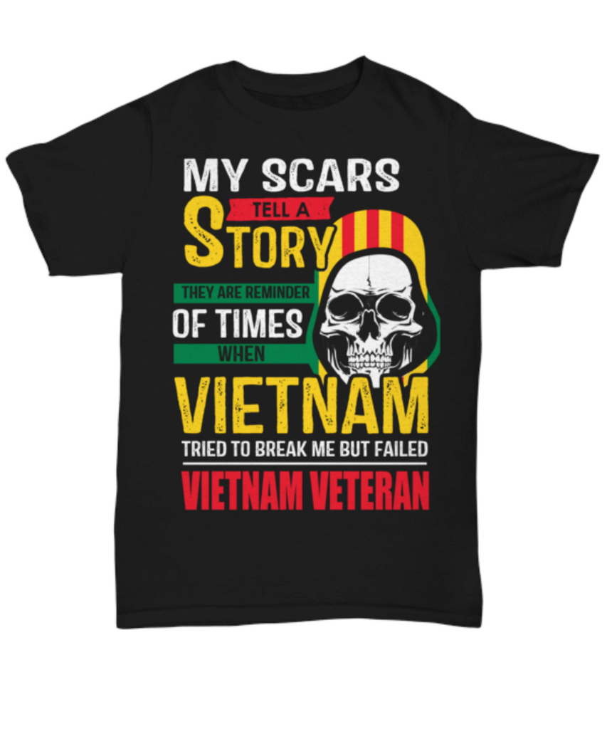 My Scars Vietnam - Secound Edition - Shirt / Hoodie - YesECart