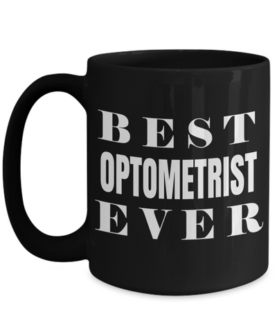 Best Optometrist Gifts For Woman - Eye Doctor Gifts - 15oz Eye Doctor Coffee Mug - Funny Eye Doctor Mug - Best Optometrist Ever - Coffee Mug - YesECart