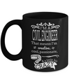 Funny Civil Engineering Gifts - Civil  Engineer Mug - I am a Civil Engineer That Means I am Creative Cool Passionate and a Little Bit Crazy - Coffee Mug - YesECart