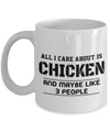 Chicken Gifts-Chicken Themed Gifts-Chicken Mug-Chicken Dad - Coffee Mug - YesECart