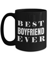 Boyfriend Gifts From Girlfriend Anniversary - 15oz Boyfriend Coffee Mug - Best Boyfriend Gifts For Birthday - Funny Boyfriend Mug - Best Boyfriend Ever - Coffee Mug - YesECart