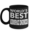 Funny Aerospace Engineering Gifts - Aerospace  Engineer Mug - Worlds Best Aerospace Engineer - Coffee Mug - YesECart