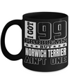 Dad Norwich Terrier Mug-Norwich Terrier Gift-Norwich Terrier Dad-I Got 99 Problems But Norwich Terrier are Not One Black Mug - Coffee Mug - YesECart