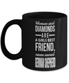 Frog Gifts-Frog Themed Gifts-Frog Mug-Mug Frog-Frog Dad-Whoever Said Diamonds are a Girls Best Friend Never German Shepherd Black Mug - Coffee Mug - YesECart