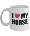 I Love My Horse-Horse Gifts For Women-Horse Gifts For Horse Lovers-Horse Rider Gifts-Horse Related Gifts-Horse Gifts For Teens-Horse Themed Gifts-Horse Mug-Horse Coffee Mug-Horse Mug Set-YesEcart - Coffee Mug - YesECart