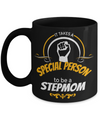 Good Step Mom Gifts  For Christmas Or Wedding - Step Mom Gifts For Birthday - Best Step Mom Mug - It Takes A Special Person To Be A Step Mom - Coffee Mug - YesECart