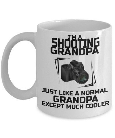Funny Photographer Gifts For Women - Gift Ideas For Photographers - Photographer Coffee Mug - I am a Photographer Grandpa Just Like a Normal Grandpa Except Much Cooler - Coffee Mug - YesECart
