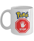 Pokemon Gifts-Pokemon Mug - Poke Stop White Mug - Coffee Mug - YesECart
