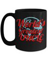 Best Uncle Gifts From Kids - Best Uncle 15oz Coffee Mug - Funny Uncle Gifts From Niece - Best Uncle Mug - I Love My Uncle Mug - Worlds Greatest Uncle - Coffee Mug - YesECart