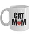 Cat Mom Mug-Crazy Cat Lady Coffee Mug-Crazy Cat Lady Gifts-Cat Lover Gifts-Funny Cat Gifts-Cat Lady Gifts-Gifts For Cat Lovers-Funny Cat Gifts - Coffee Mug - YesECart