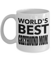Greyhound Coffee Mug-Greyhound Gifts-Gifts For Greyhound Lovers-Greyhound Mom-Worlds Best Greyhound Mom White Mug - Coffee Mug - YesECart
