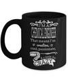 Funny Chemical Engineering Gifts - Chemical  Engineer Mug - I am a Chemical Engineer That Means I am Creative Cool Passionate and a Little Bit Crazy - Coffee Mug - YesECart
