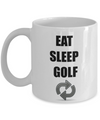 Golf Coffee Mug-Eat Sleep Golf-Golf Mug - Coffee Mug Golf-Golf Gifts For Dad -Golf Gifts Funny -Golf Gifts For Men-Golfing Gifts-Golf Gifts For Him-Funny Golf Gifts-Golf Gifts Men-Gifts For Golf Lovers - Coffee Mug - YesECart