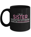 Personalized Sister Mugs - 11 oz Sister Coffee Mug - Sister Gift - Best Sister Coffee Mug - Best Sister Mug - I Am A Sister To Save Time Lets Assume That I Am Never Wrong - Coffee Mug - YesECart