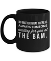 Someone Waiting For You At The Bam-Horse Gifts For Women-Horse Gifts For Horse Lovers-Horse Rider Gifts-Horse Related Gifts-Horse Gifts For Teens-Horse Mug-Horse Coffee Mug-Horse Mug Set-YesEcart - Coffee Mug - YesECart