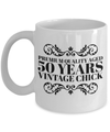 50 Birthday Funny Gifts For Women-Happy Birthday 50 Gag Gift For Wife - YesEcart - Coffee Mug - YesECart