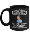 Medical Doctor Gifts - Doctor Office Gifts -Gifts Ideas For A Doctors - Best Funny Doctor Gift - Doctor Gag Gifts - Doctor Themed Gifts - I am a Doctor Grandpa Just Like a Normal Grandpa Except Much Cooler Black Mug - Coffee Mug - YesECart