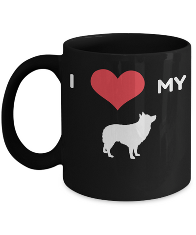 Border Collie Gifts-Border Collie Mug-Border Collie Dad - Coffee Mug - YesECart