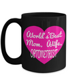 Best Optometrist Gifts For Woman - Eye Doctor Gifts - 15oz Eye Doctor Coffee Mug - Funny Eye Doctor Mug - Worlds Best Mom Wife Optometrist - Coffee Mug - YesECart